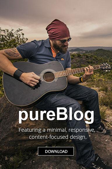 pureblog banner