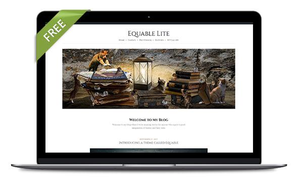 WordPress Theme Equable Lite