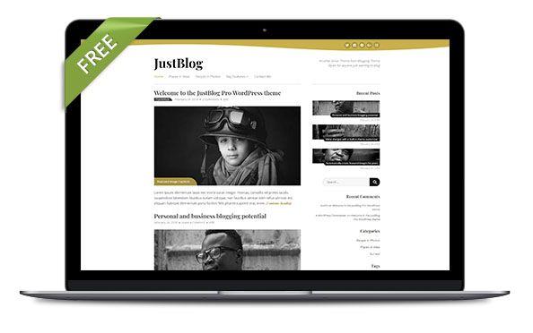 WordPress Theme JustBlog