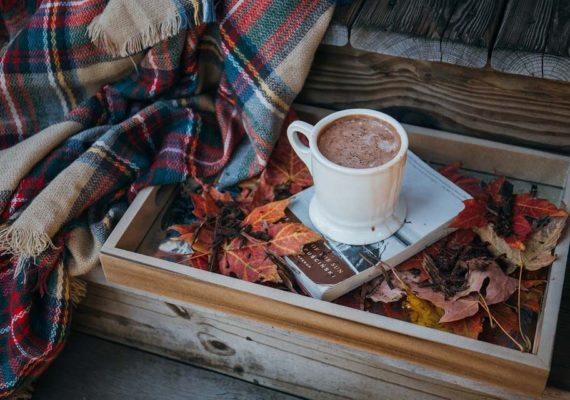 Spend a little time for yourself on an autumn day