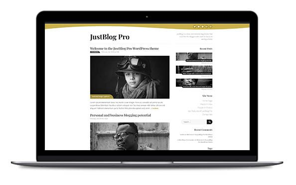 WordPress Theme JustBlog Pro