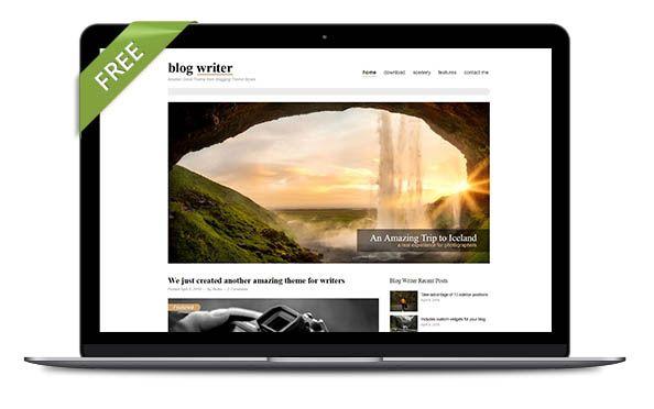 WordPress Theme Blog writer