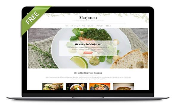 WordPress Theme Marjoram